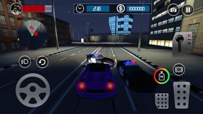パトカーのエスケープ3D:ナイトモードレーシングチェイスゲームのおすすめ画像3