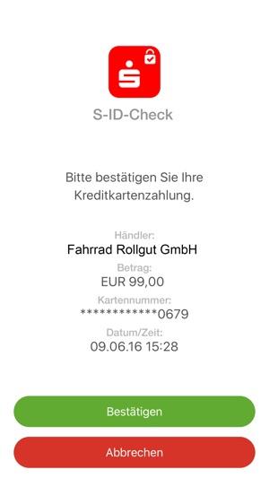 S id check karte kann nicht registriert werden