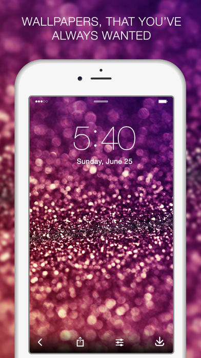 Top 10 Apps like Glitter Backgrounds in 2019 for iPhone & iPad