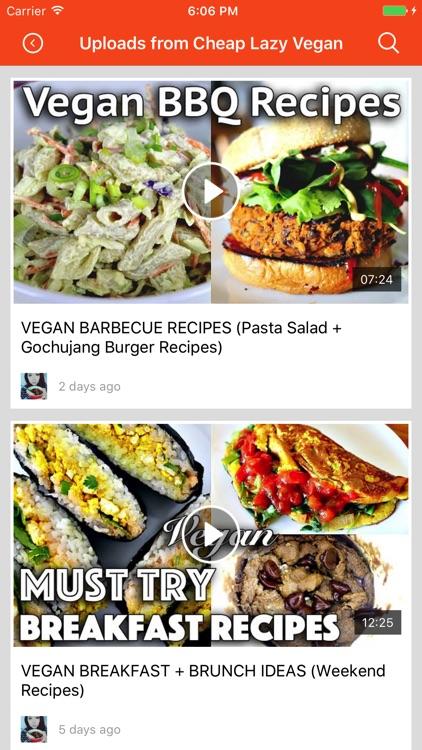 Vegetarian Recipes: Food recipes & cookbook screenshot-3