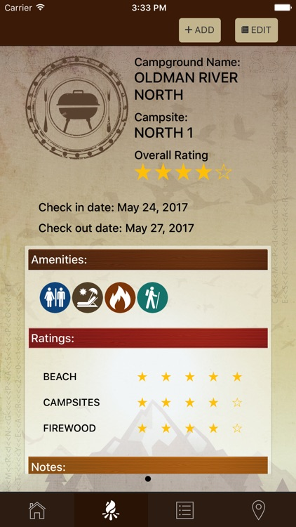 Camping Passport screenshot-1