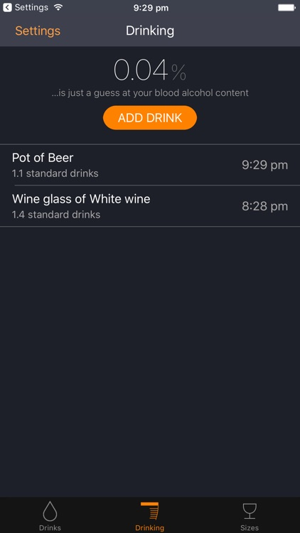 RationAle – Drink Tracking Assistant