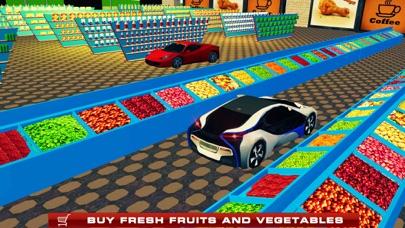 Supermarket Drive Through 3D – Shop in Car Sim screenshot two
