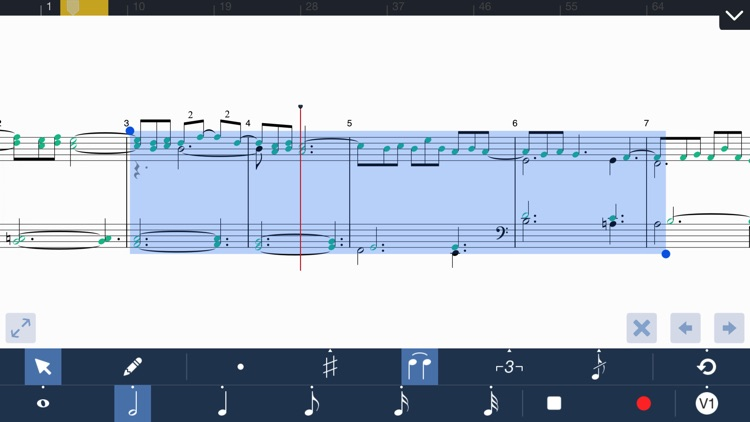 Symphony for iPhone - Composition & Notation screenshot-3