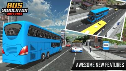 バスシミュレーター2017 - 市のバスバス運転のバスのスクリーンショット4