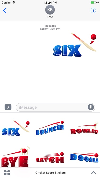 Cricket Score Stickers