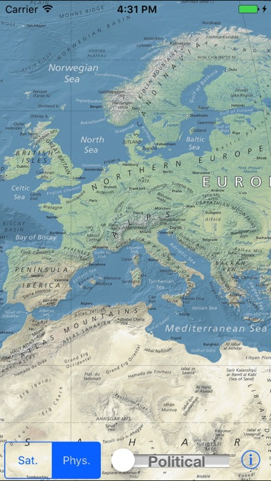 World Map Explorerのおすすめ画像1