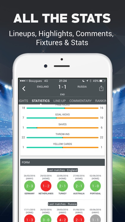Live Football Scores - Soccer Live Score screenshot-3