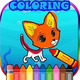 SD Animal Coloring Game
