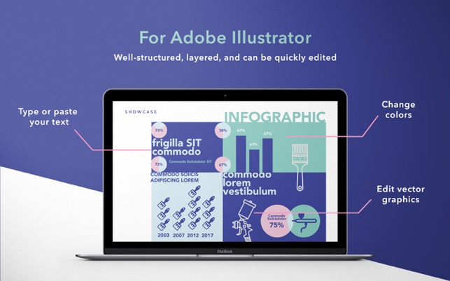 gn infographics for adobe illustrator - templates on the mac app store, Powerpoint templates