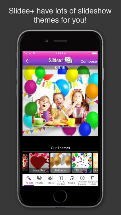 Slidee+ Slideshow Movie Maker & Editor with Music