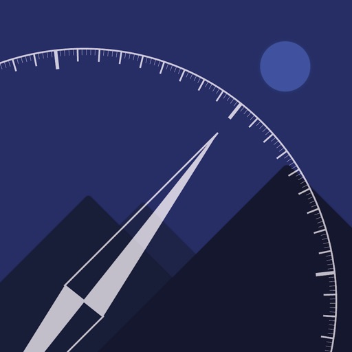Simple Compass - Time of Sun and Moon