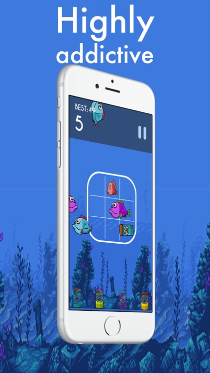 Fish attack - swipe the fish screenshot-0