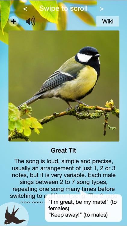 Chirp! Bird Songs & Calls of Britain and Europe +