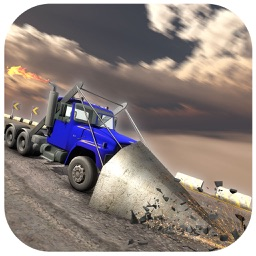Roadway War Truck Racing