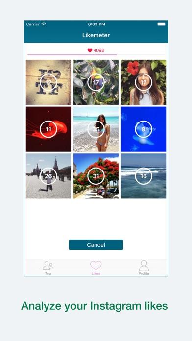 Likemeter screenshot two
