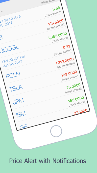 Watchlist: stock market quotes in stocks & options Screenshot