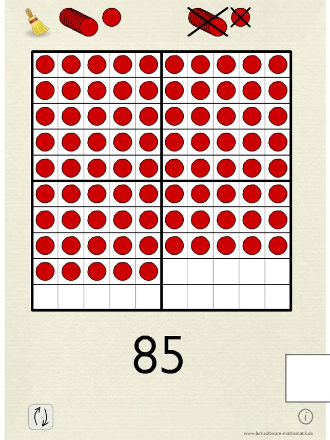 Zahlen bis 100 Screenshot