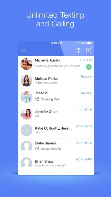 TextNow screenshot-0
