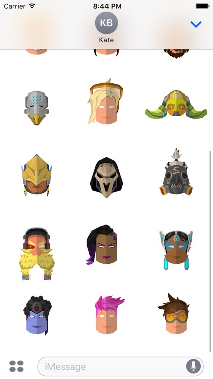 The Heroes Of Overwatch Sticker Pack