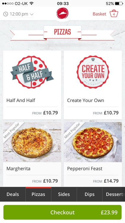 Pizza Hut UK - order pizza delivery and takeaway