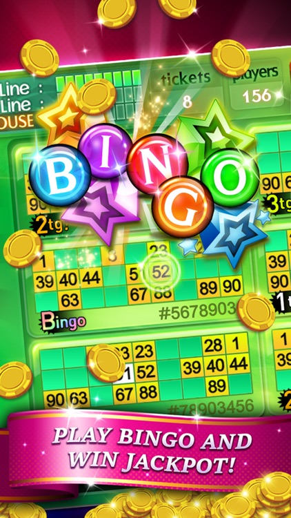 Bingo 90 Live + Slots & Poker screenshot-0