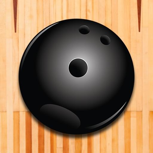 A1 Pin Bowling-Kugel Fallen