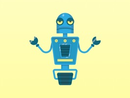 Robots - Cute Colorful Stickers for iMessage will enhance your iMessage chat