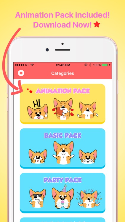 CorgiMOJI - Welsh Corgi Emoji & Stickers screenshot-4