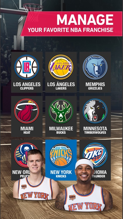NBA General Manager 2017 - Live basketball game