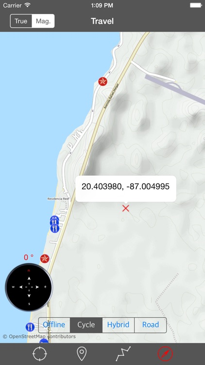 COZUMEL ISLAND – GPS Travel Map Offline Navigator screenshot-1