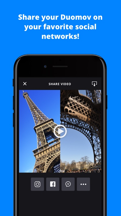Duomov: make videos with nearby friends screenshot-4