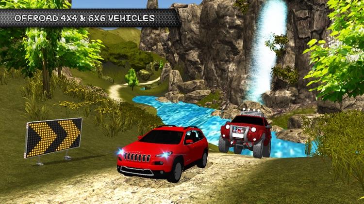 Offroad 4x4 Hill Jeep Driving Simulation screenshot-4