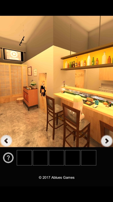 Escape from the delicious sushi shop. screenshot one