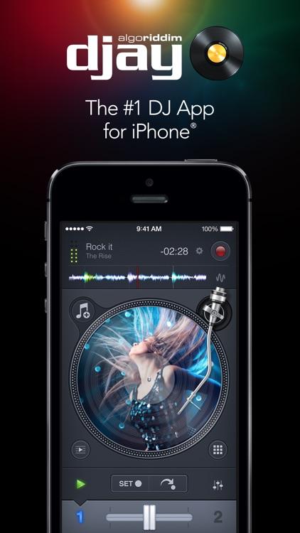 djay 2 for iPhone screenshot-0