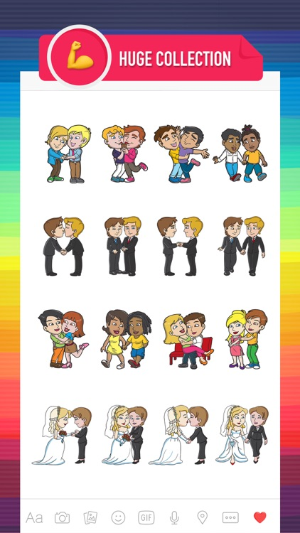 GayMoji - gay emojis keyboard for LGBT community