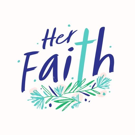 Her Faith Stickers