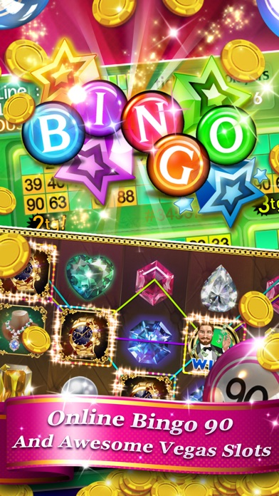 Bingo 90 Live + Slots & Poker 16.01 IOS