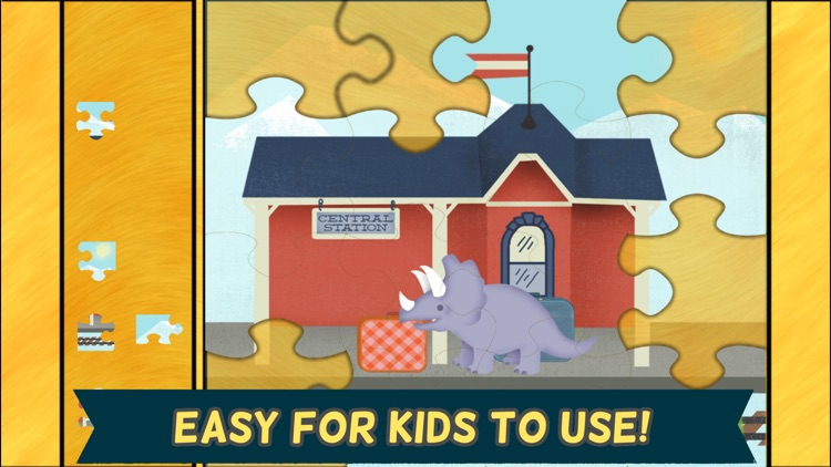 Dinosaur Games for Kids: Puzzles