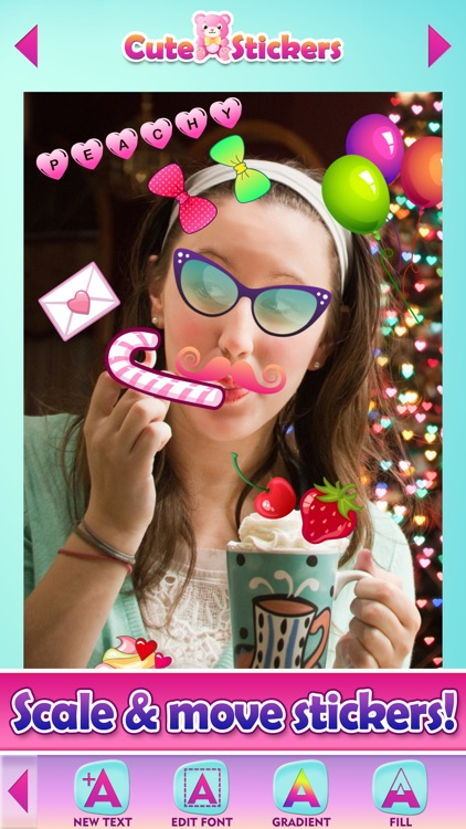 Cute Selfie Stickers for Photos & Picture Editor screenshot-3