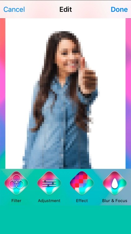 Effects and Filters for montages Easy photo editor screenshot-4