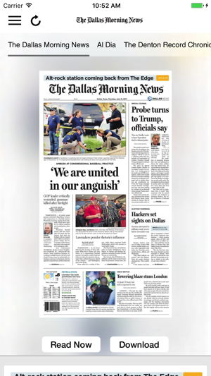The Dallas Morning News ePaper on the App Store