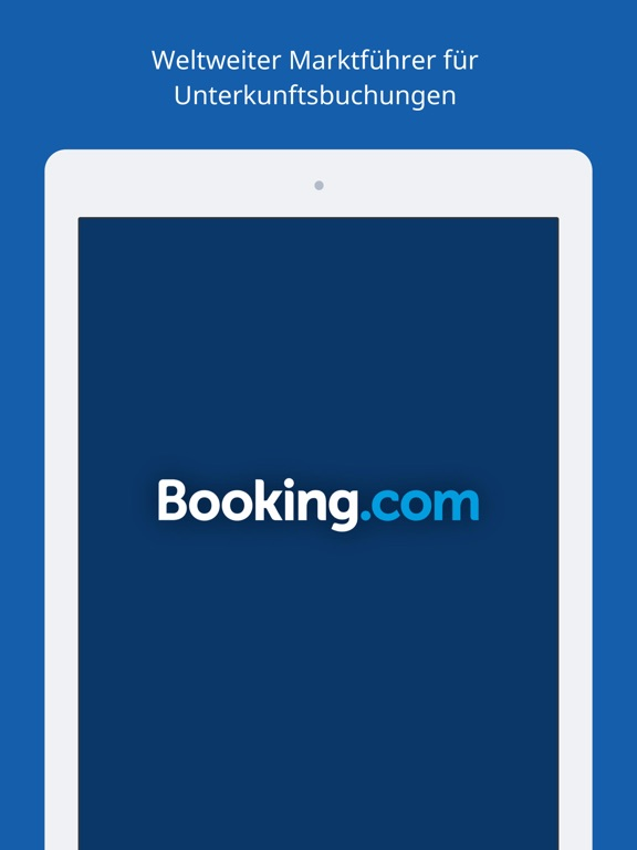Booking.com Hotel-Buchungen Screenshot