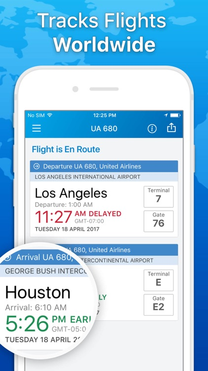 The Flight Tracker - Track Flights & Airline Info screenshot-0