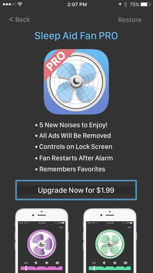 Sleep Aid Fan - White Noise on the App Store