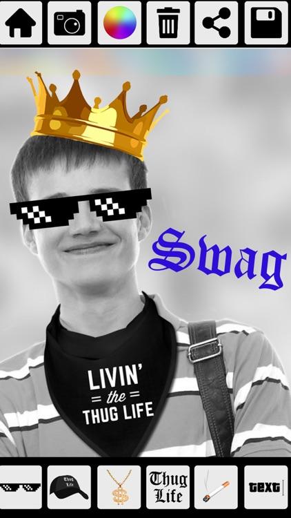 Thug Life Photo Stickers - Photo maker screenshot-3