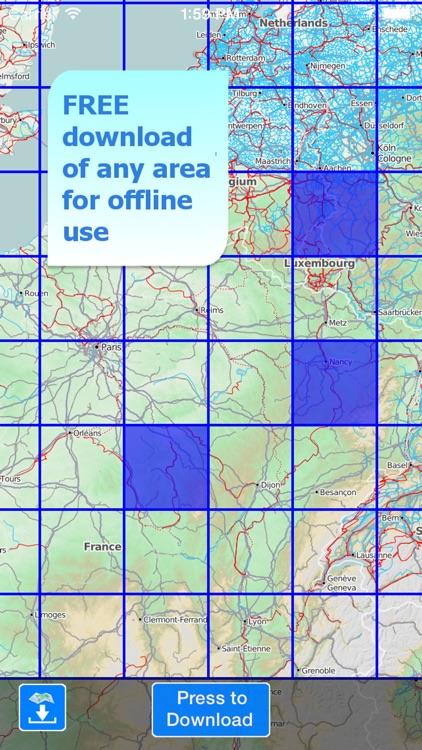 Terra Map Pro - GPS Hiking topo maps | HD screenshot-4