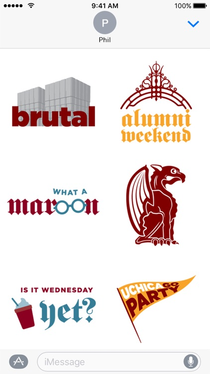UChicago Stickers screenshot-3