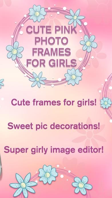 可愛い ピンク 写真 フレーム ために 女の子 - 画像 編集者紹介画像2