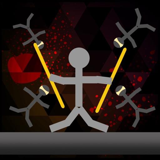 Stickman Warriors Heroes-Drunken Wrestler Dismount